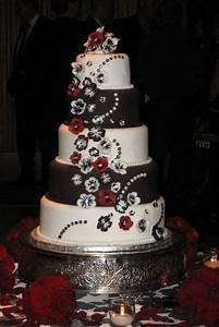 Amazing Red, Black And White Wedding Cakes [27 Pic ...