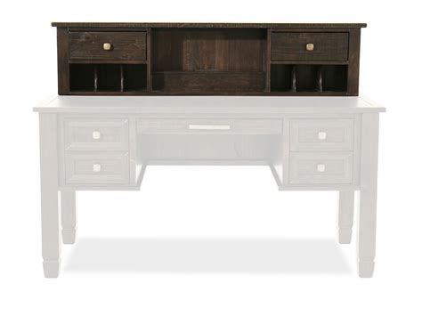 townser home office desk with hutch ashley townser home office desk hutch mathis brothers
