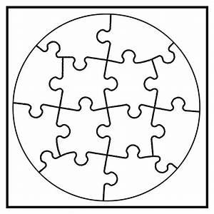 Puzzle Zum Ausdrucken : joypac white line puzzle kreis zum selbst bemalen wei 6 ~ Lizthompson.info Haus und Dekorationen
