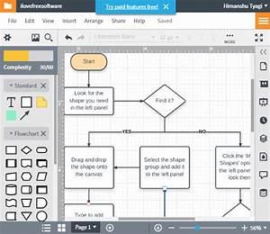 5 Free Websites To Create Flow Diagram Online