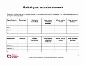 image gallery monitoring and evaluation framework With monitoring and evaluation template word