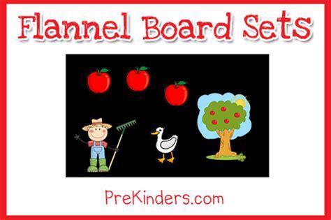 flannel board sets prekinders 342   flannel board