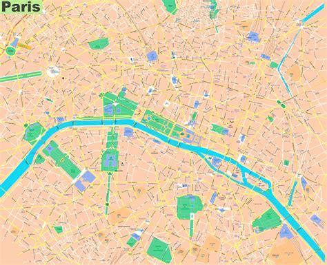 paris streets map