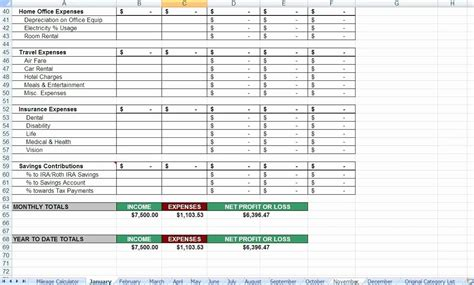 tax deduction spreadsheet template excel luxury worksheets