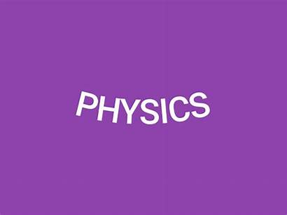 Physics Word Animated Play Dribbble Icon Tweet