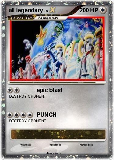 All Shiny Legendary Pokemon Cards