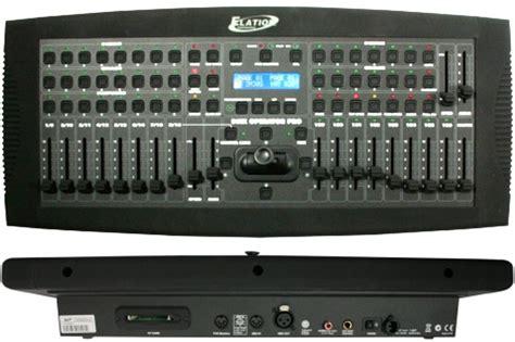 elation dmx operator pro    programmable joystick