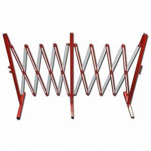 Seitenmarkise Ausziehbar 4 M : scherengitter rot wei stahl bis 4 m ausziehbar h he 1 m ~ Whattoseeinmadrid.com Haus und Dekorationen