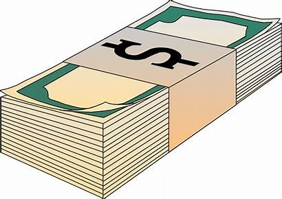 Money Bills Clip Clipart Stack