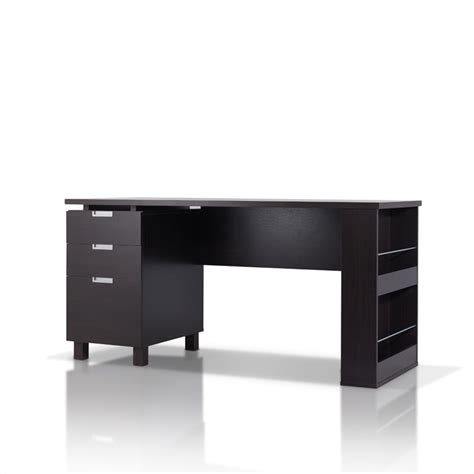 furniture of america nickolas modern office desk in