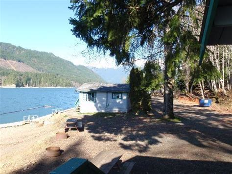 lake cushman cabins partial view from lakefront cabin 2 picture of
