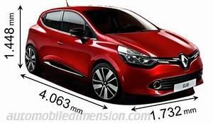 Dimensions Clio 4 : dimensions des voitures renault longueur x largeur x hauteur ~ Maxctalentgroup.com Avis de Voitures
