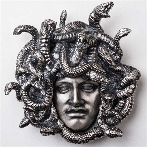 Forget the stone. Medusa turns herself to sterling silver ...