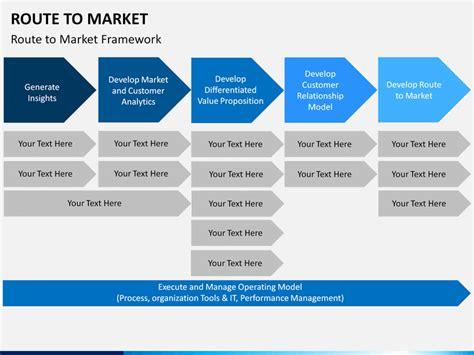 route  market powerpoint template sketchbubble