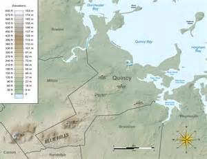 Quincy Massachusetts Map