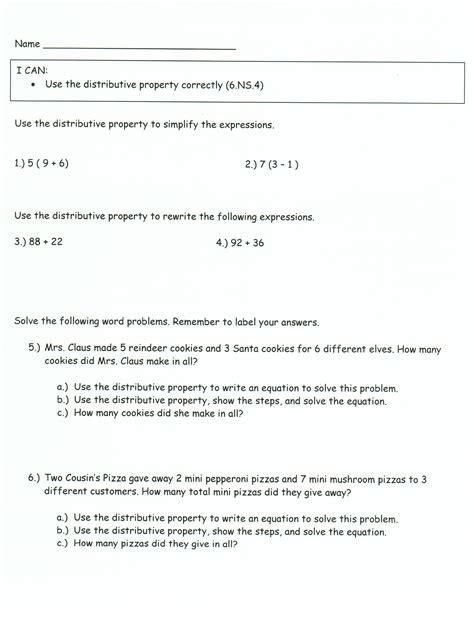 distributive property word problems www pixshark