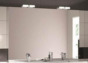 miroir de salle de bain miroir credo aquarine With miroir salle de bain 140 cm