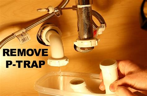 remove kitchen sink drain how to clean a stinky sink drain home repair tutor 4704