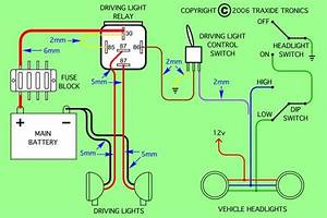 Diagram Is For Negative Switched Headlights