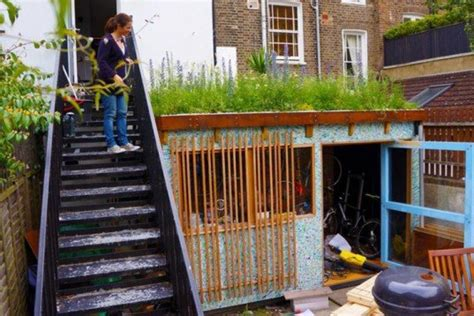 Shed From Recycled Materials by 5 Brilliant Sheds Made From Recycled Materials