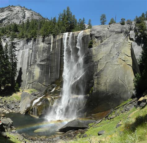 File Nevada Falls Yosemite National Park August
