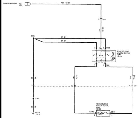 2005 F150 Window Wiring Diagram by What Is The Wiring Diagram For 2005 F 150 Power Windows