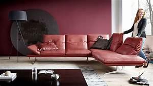 Www Koinor Com : koinor sofa francis in rot leder m bel b r ag ~ Sanjose-hotels-ca.com Haus und Dekorationen