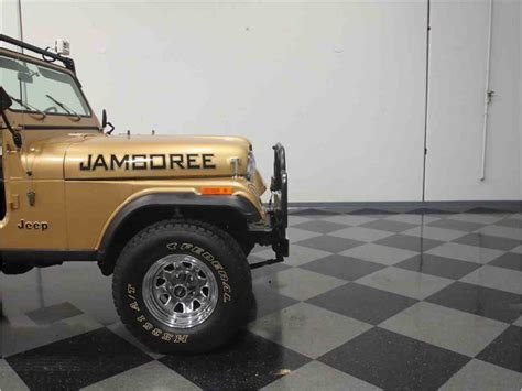 1982 jeep jamboree 1982 jeep cj7 jamboree 30th anniversary for sale