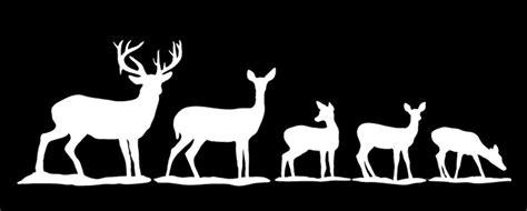 deer family decal  camo