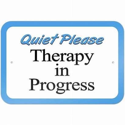 Progress Quiet Sign Please Therapy Zoom Walmart
