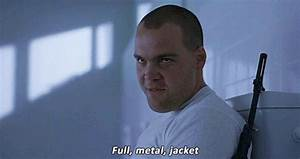 fullmetal jacket gif find share on giphy With full metal jacket bathroom scene