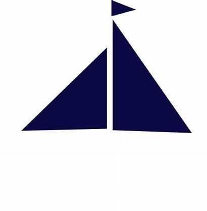 Sailboat Navy Clip Clipart Silhouette Clker Advertisement
