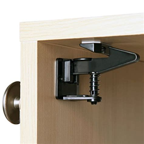 Childproof Cabinet Locks No Screws by Child Safety Cabinet Locks Latches By Safe Latch No