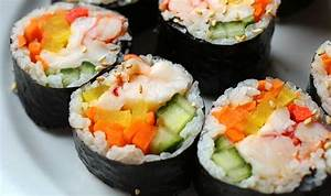 Lobster seaweed rice rolls (Lobster gimbap) recipe