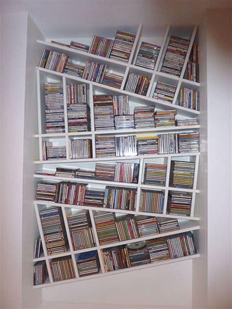 fabriquer bureau bois les 25 meilleures idées concernant range cd sur