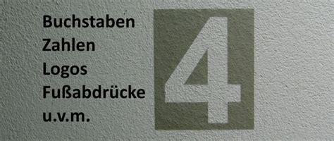 Hausnummer Schablonen Vorlagen by Schablonenfolie Malerschablonen Selbstklebend