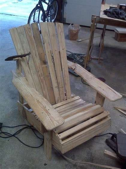 pallet adirondack chair plans diy adirondack rocking chair plans woodworking projects