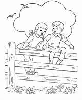 Coloring Fence Cerca Sitting Sheets Children Printable Desenho Colorir Bluebonkers Sentadas Adult Criancas Colorare Libri Tudodesenhos Colorier Activity Cercado Jardim sketch template