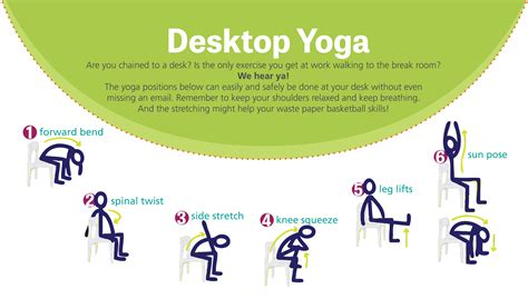 yoga at your desk are you chained to a desk