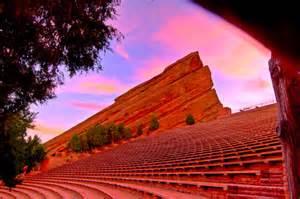 Red Rocks Amphitheatre Colorado Concert