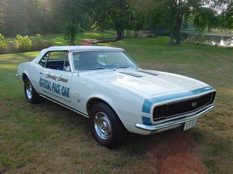 1967 CHEVROLET CAMARO RS/SS PACE CAR CONVERTIBLE - 93371