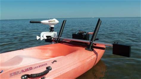 Malibu Boats Saltwater Package by Ocean Kayak Motor Kayak Motor Mount