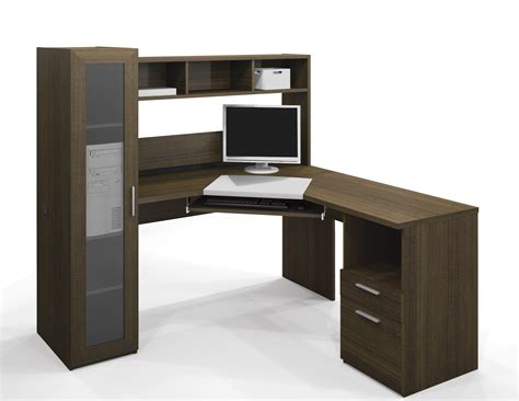 desk l with outlet and organizer modern puter desk how to make a modern puter desk modern