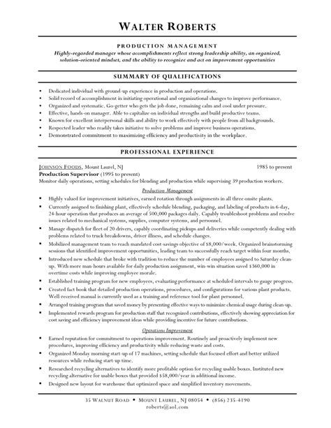 General Warehouse Resume Skills by Resume Exle Warehouse Worker Resume Skills General