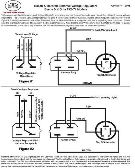 1972 vw bus alternator wiring diagram wiring diagram and