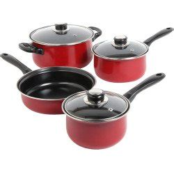 red cookware sets   kitchen