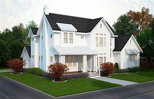 4 Bed Modern Farmhouse Plan - 25406TF   Architectural ...