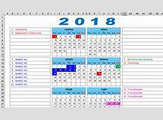 KALENDAR 2018 s državnim praznicima blagdanima i neradnim