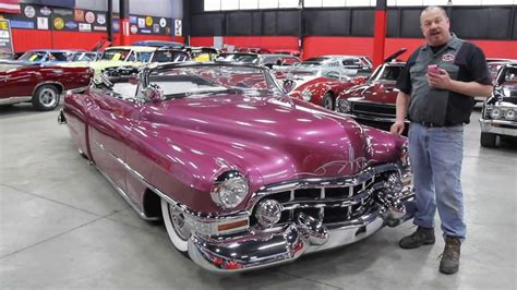 1951 cadillac series 62 convertible classic muscle car for sale in mi vanguard motor sales youtube