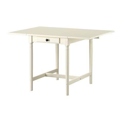 ikea table leaf ingatorp drop leaf table white 59 88 117x78 cm ikea